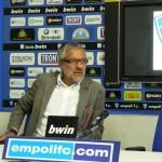 """Empoli Calcio L'ex Pino Vitale: """"Non mi aspettavo l'addio di Carli, l'Empoli ha preso una strada particolare"""""""