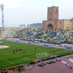 Lo stadio Dall'Ara di Bologna
