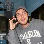 Nicola Pozzi negli studi di Radio Lady