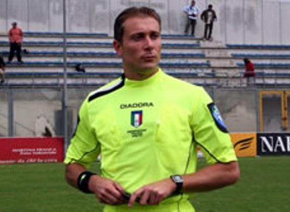 L'arbitro Paolo Valeri