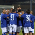 Il gol di Carmine Esposito (foto Empolichannel.it)