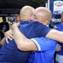 L'abbraccio tra Spalletti e Carmine Esposito (foto Empolichannel.it)