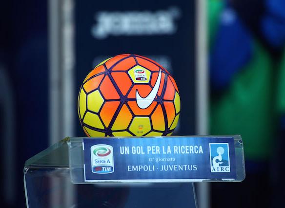 Il pallone invernale della Serie A (foto Empolichannel.it)