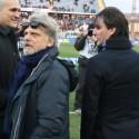 Massimo Ferrero e Vincenzo Montella (foto Empolichannel.it)