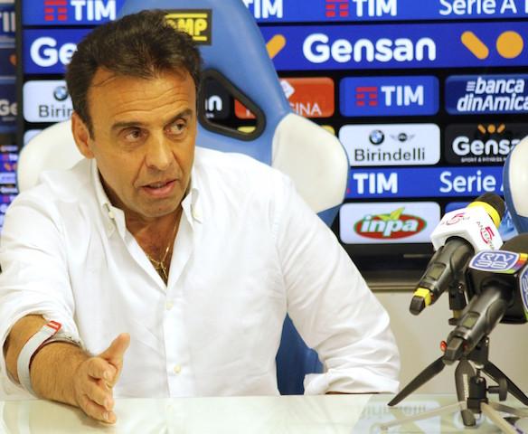 Il presidente dell'Empoli, Fabrizio Corsi (foto Empolichannel.it)