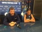 """Empoli Calcio Marcello Carli presenta Pereira: """"Abbiamo fatto un investimento, crediamo molto nelle sue capacità"""""""