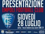 Empoli Calcio L'Empoli si presenta in piazza dei Leoni: saranno svelate le nuove maglie