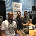 Giuseppe Bellusci negli studi di Radio Lady durante Incontro Azzurro