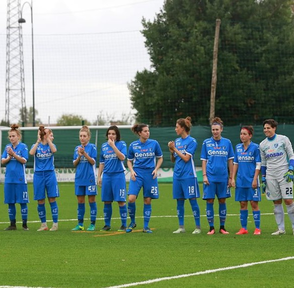 Foto Empoli Ladies FBC pagina Facebook