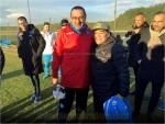 Empoli Calcio Maradona a Castelvolturno incontra il grande ex Maurizio Sarri. I due fanno subito amicizia