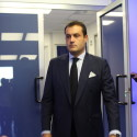 La presentazione del nuovo allenatore Vivarini e del nuovo diggì Butti (foto Empolichannel.it)