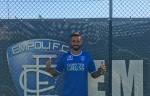 Empoli Calcio Empoli, preso Francesco Caputo. Prima foto con la maglia azzurra in attesa dell'ufficialità