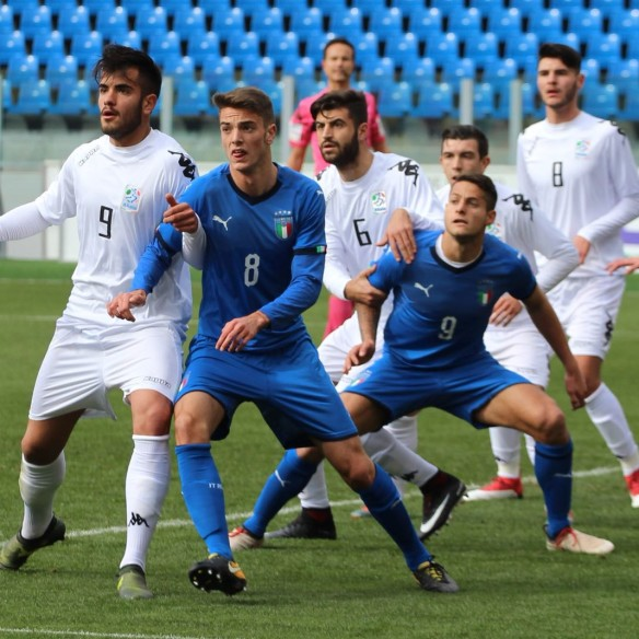 B Italia-Under 20 fase di gioco