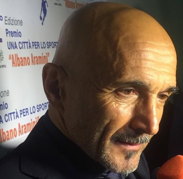 Luciano Spalletti al premio Albano Aramini (foto Gonews.it)