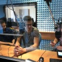 Lorenzo Polvani ospite di Incontro Azzurro negli studi di Radio Lady