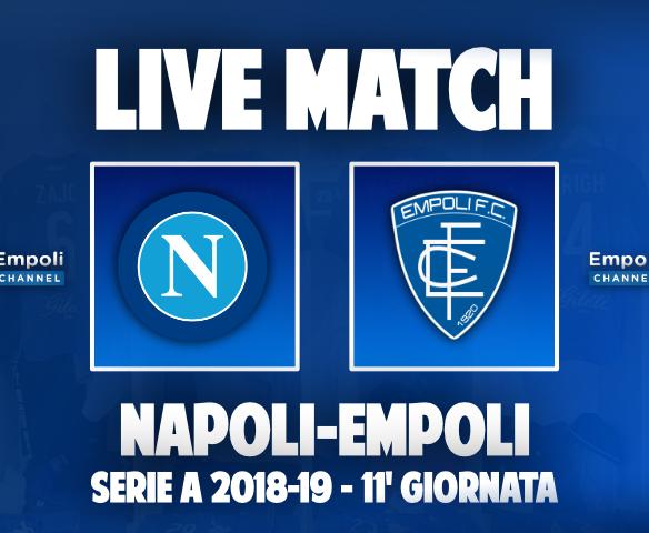 live match napoli empoli