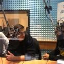 Cristian Dell'Orco negli studi di Radio Lady durante Incontro Azzurro
